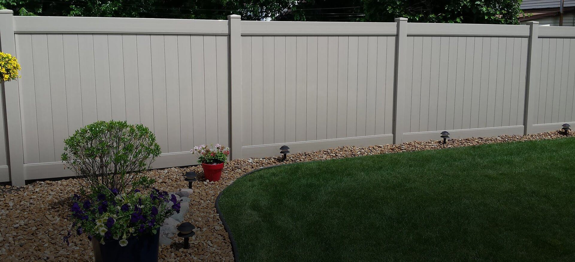 If you need a vinyl, chain link or wrought iron fence installed on your property call our ...