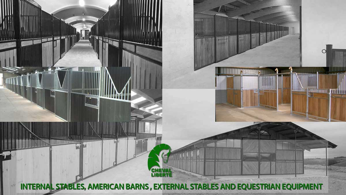 Internal stables suitable for all livery and equestrian yards. Choose Cheval Liberte's S...