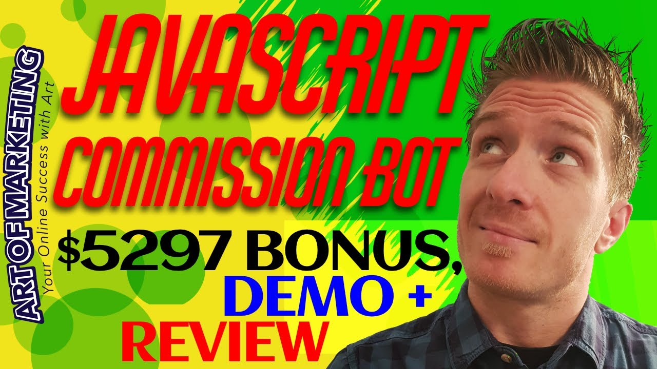 Javascript Commission Bot Review! What's inside Javascript Commission Bot by Jono Armstron...