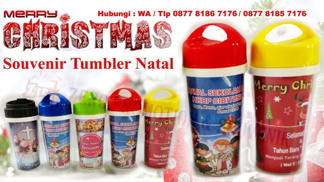 Kami zeropromosi menjual Souvenir Natal Tumbler atau souvenir botol minum Untuk Acara Nata...