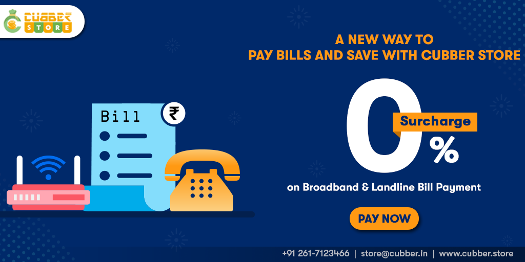 Landline and Broadband Bill Payment - Pay Online Landline and Broadband Bill on 0% Surchar...