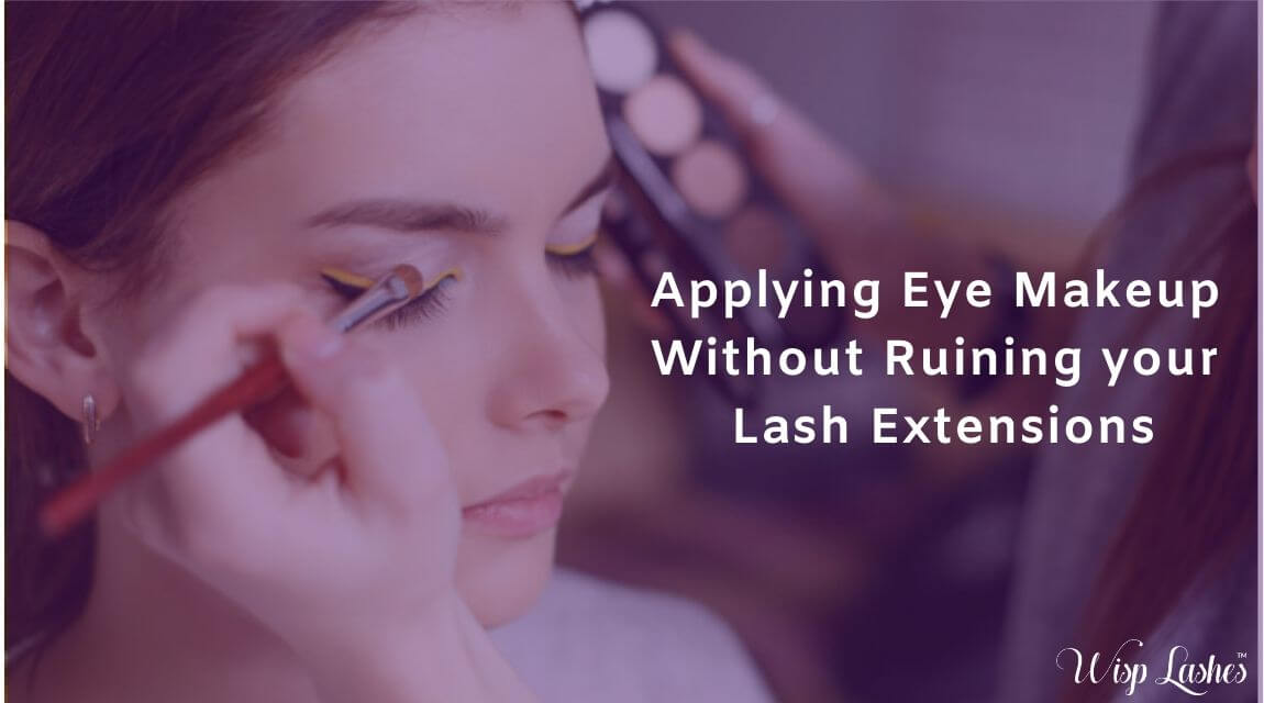 Lash extensions worrying you while you go for your eye and face makeup? Here are the tips ...