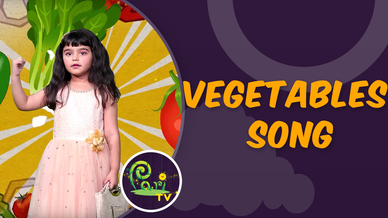 Learn Vegetables Song in Hindi at PariTv. Kids are getting interested in watching Kids Fun...