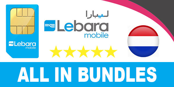 Lebara Mobile Netherlands All in Bundles - Data-Intenet Plan, Call Plans, SMS Bundles-Pack...