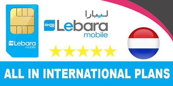 Lebara Mobile Netherlands All in International Plans. Data-Intenet, Flexi mins, lebara to ...
