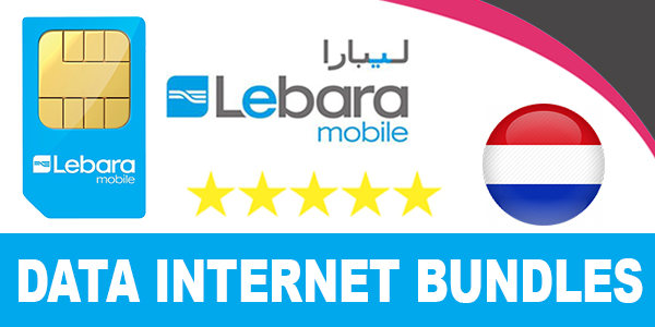 Lebara Mobile Netherlands Mobile Data Internet Bundles - 3G and 4G Data Plans 5-Euro to 20...