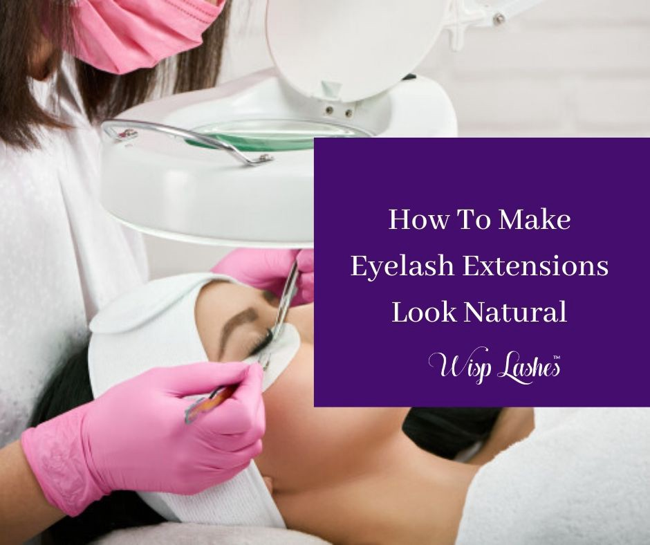 Let's understand how to make eyelash extensions look fluffier, longer, and obviously natur...