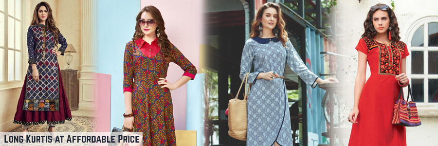 Long Kurtis - Buy Long Kurtis online at the lowest prices on Fab Funda. Huge collection of...