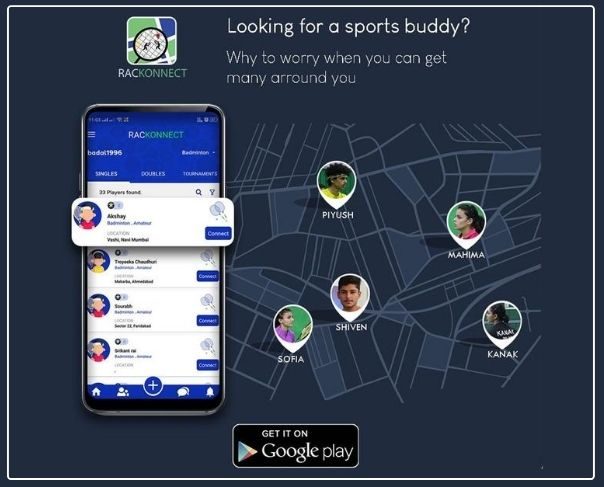 Meet Energetic Badminton players. Find and get connected with racket sport buddies near yo...