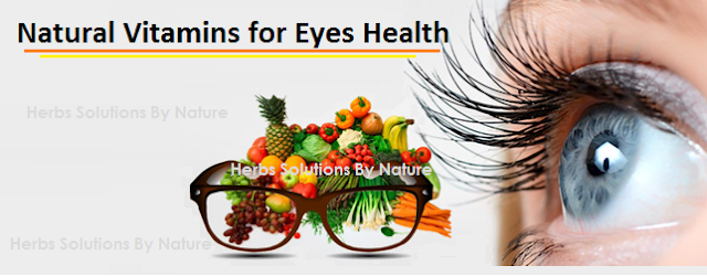 Natural Vitamins for Eyes Health can provide a brilliant defense against vision problems. ...