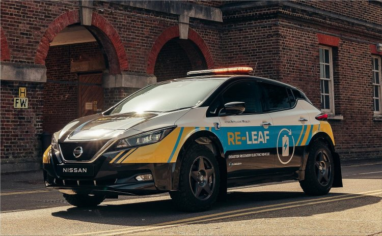 Nissan unveils 100% electric emergency response vehicle concept designed to provide a mobi...