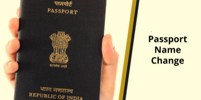 Passport name change after marriage, name change in Indian passport, passport name correct...