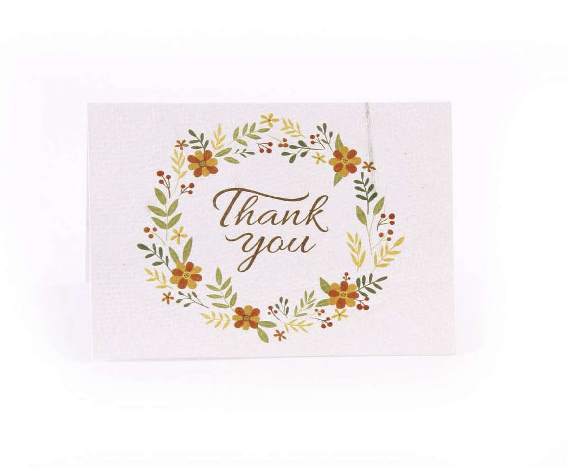 pepaa offers Eco-friendly Plantable seed paper wedding cards, seed thank you cards, planta...
