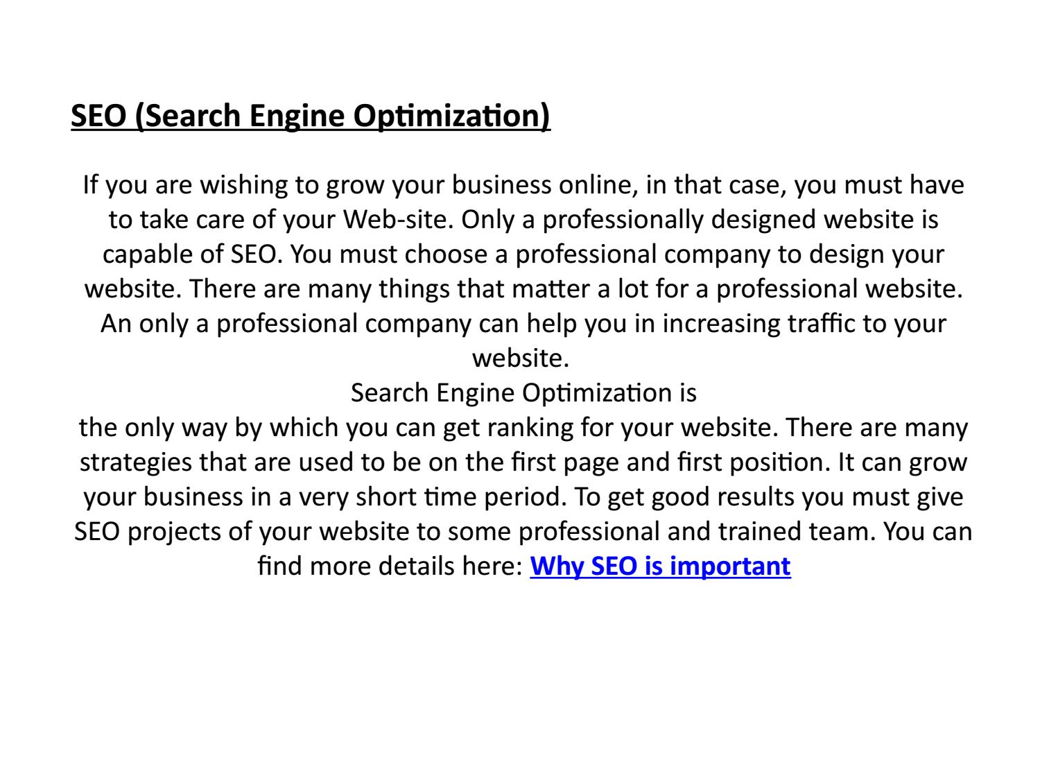 SEO refers to Organic traffic which means that you are getting real searches for your webs...