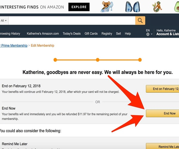 Some users sign up for the free Amazon Prime trial in order to get the free benefits of ...