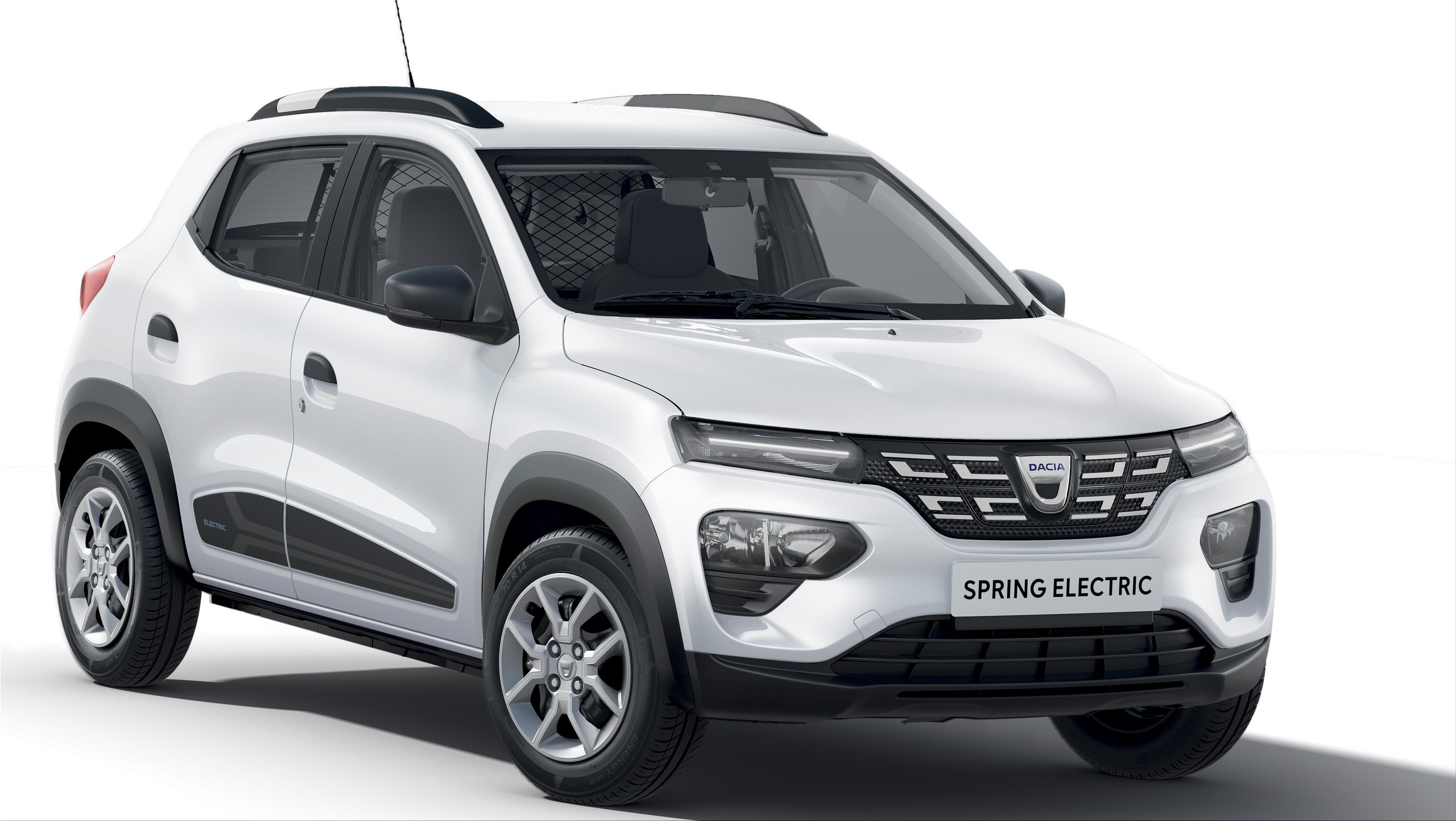 The new Dacia Spring was officially introduced.Dacia Spring has a 28.6 kWh battery for a...