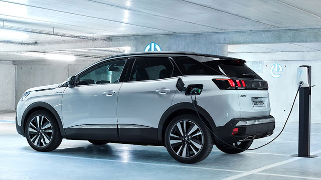 The new 2021 Peugeot 3008 Hybrid 4 SUV  combines power and refinement with ubiquitous on...
