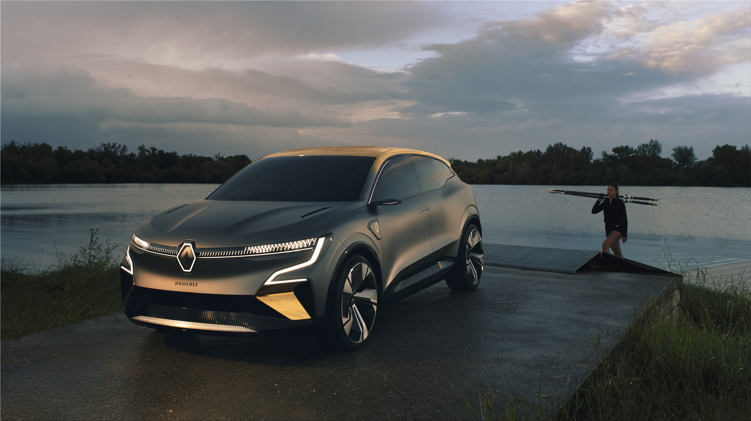 The Renault Group presented a new 100% electric vehicle, eight years after the launch of t...