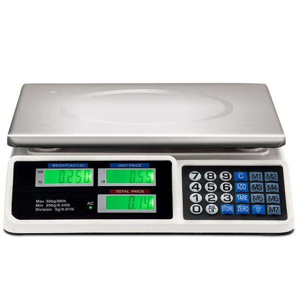 The report has segregated the digital weighing scale market based on product type, materia...