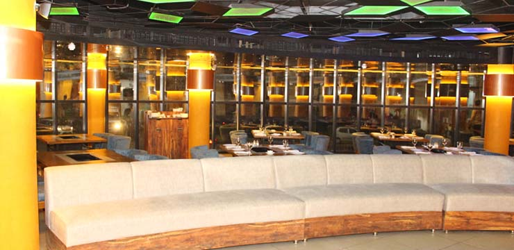 """The restaurant """"B4 – Barbeque, Buffet, Bar, Banquet"""" is located in one of the prime ..."""