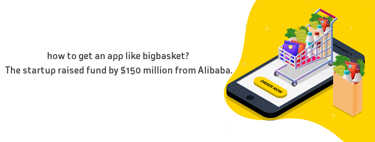 This is about how an app like big basket gets funded around $150 million. They aim to garn...