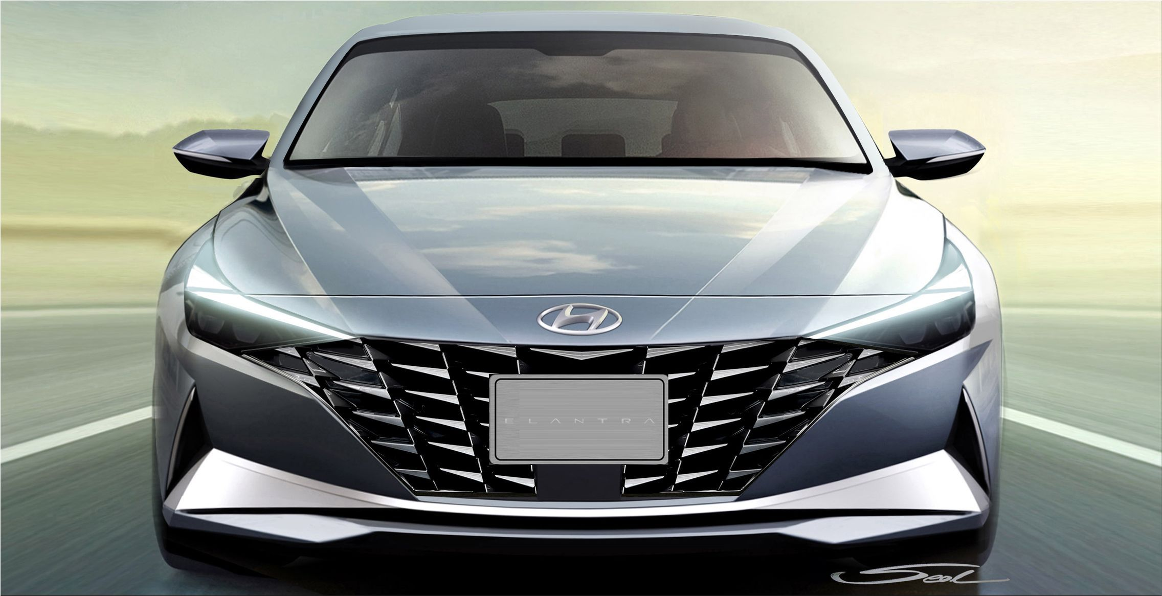 This very morning, Hyundai introduced the new Elantra and Elantra Hybrid in a special broa...