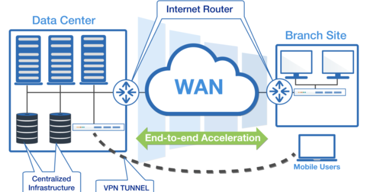 To avail WAN caching and optimization services, you need a network to provide with WAN acc...