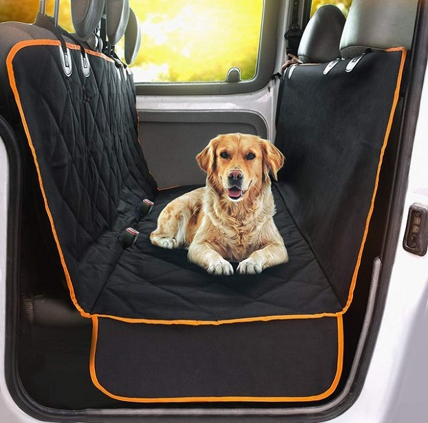 To protect your seats from dirt, water, and scratch marks you can place dog car seat cover...
