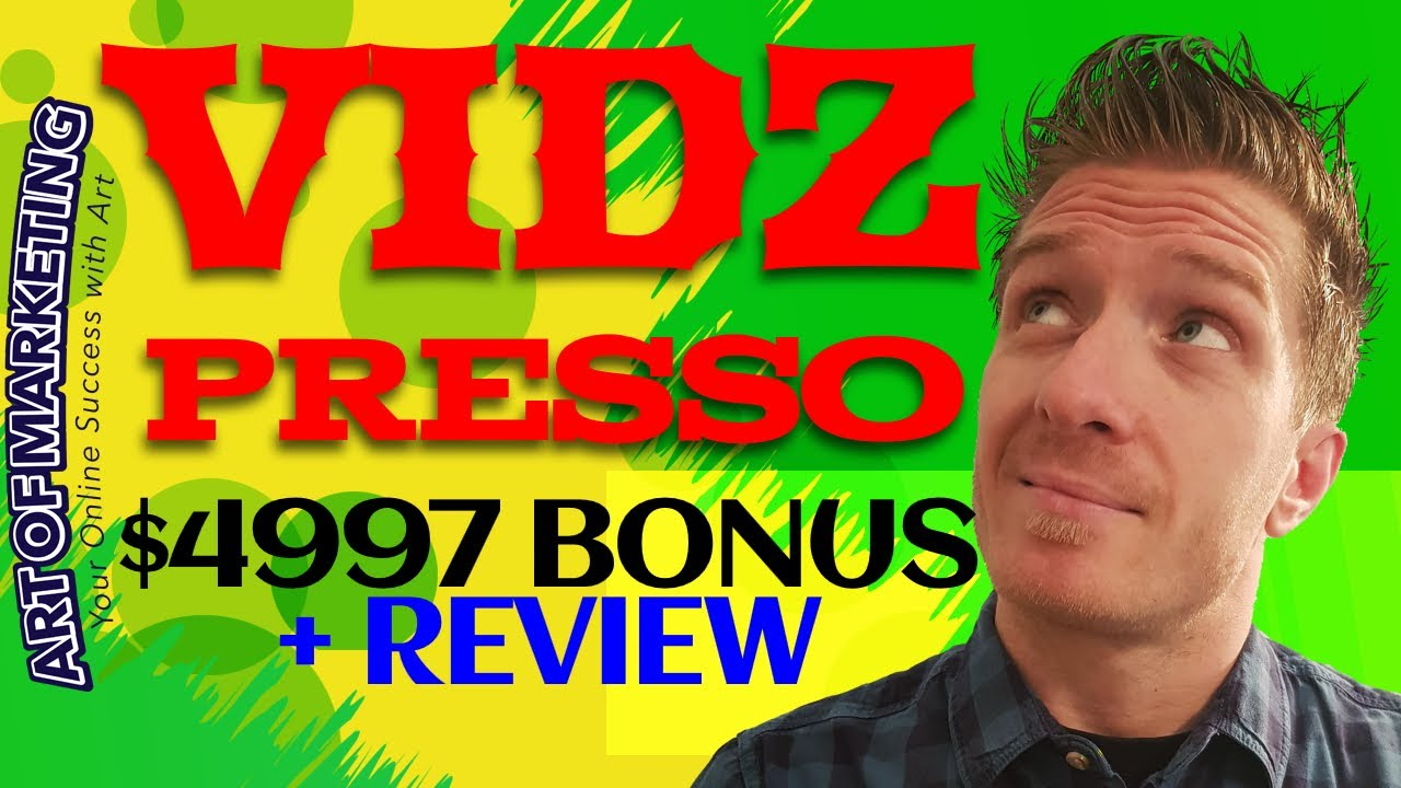 VidZPresso Review! What's inside VidZPresso by Mosh Bari and what does it do? In a nutshel...