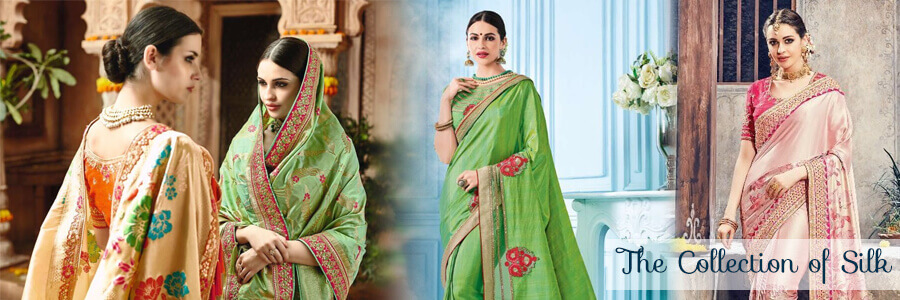 We provide here all Silk sarees at best price online. Buy soft silk sarees at best price f...