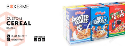 Why is it necessary to focus on custom cereal boxes? Cereals are a mixture of different he...